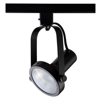 Spot Basic Trilho Direcionável Metal Preto 20x10cm Bella Iluminação 1x PAR 30 Bivolt DL031P Escritórios e Salas