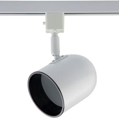 Spot Basic Trilho Direcionável Metal Branco 18x7,1cm Bella Iluminação 1x PAR 20 DL036B Cozinhas e Salas