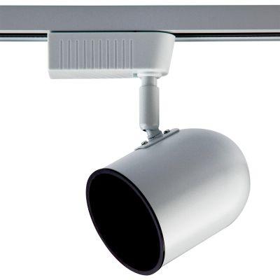 Spot para Trilho Eletrificado Metal Branco 18x9cm Bella Iluminação 1x AR70 220V DL038B-220V Salas e Cozinhas