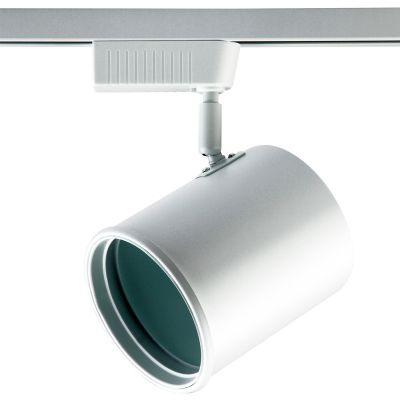 Spot Beam para Trilhos Direcionável Branco Metal 18x11cm Bella Iluminação 1x AR111 110V DL052B Salas e Escritórios