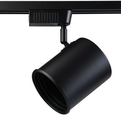 Spot Beam Trilho Direcionável Preto Metal 18x7cm Bella Iluminação 1x AR111 DL052P-220V Salas e Cozinhas
