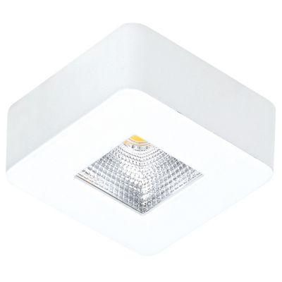 Spot Quad Pill LED Sobrepor Quadrado Branco 2,6x6,2cm Bella Iluminação 1x LED 5W Bivolt DL107Q Corredores e Quartos