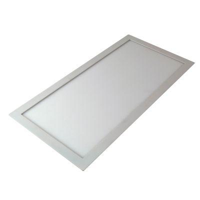 Plafon Ret Smart LED Sobrepor Retangular Branco 120x30cm Bella Iluminação 1 LED 50W Bivolt DL122WW Quartos e Salas
