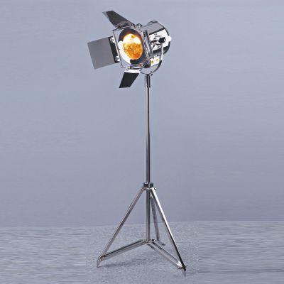 Coluna Luminária de Chão Aço Inoxidável Cromado 105x36cm Bella Iluminação 1 E14 Bivolt EA015 Salas e Quartos