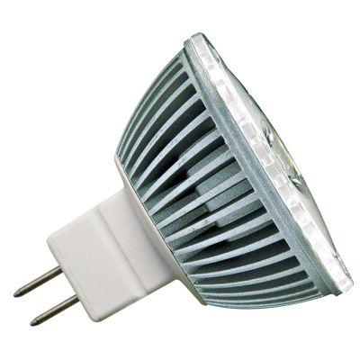 Lampada LED Dicróica GU5.3 AC DC Cinza Branco Bella Iluminação LP011