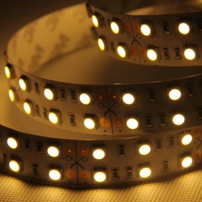 Fita Dupla LED Silicone Branco 144W DC 24V Bella Iluminação LP074