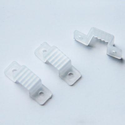 Bracadeira para Fita LED Plastico Transparente Bella Iluminação LP088