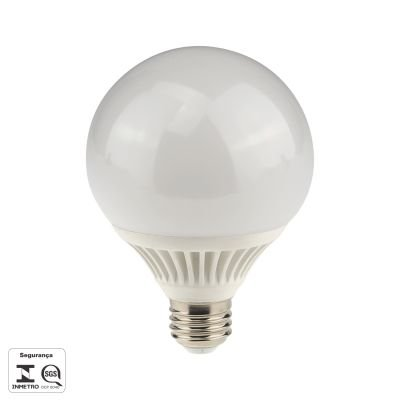 Lampada LED Baloon E27 9W Branca Bivolt Bella Iluminação LP123C