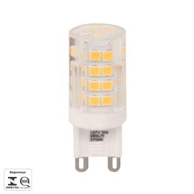 Lampada LED Halopin G9 3W 127V Transparente Bella Iluminação LP160CA