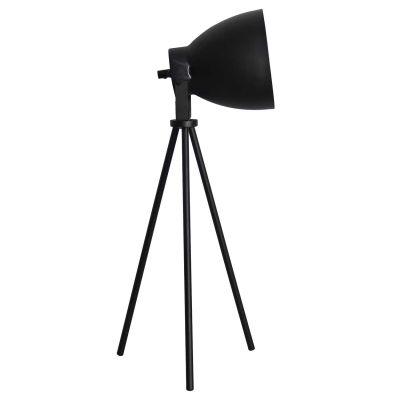 Luminária de Mesa Aço Preto Direcionável 55x19cm Bella Iluminação 1 E27 Bivolt LU007B Mesas e Escritórios