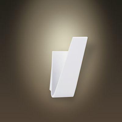 Arandela Vertical Fine LED Alumínio Branco 10x19cm Bella Iluminação 1 LED 6W LZ001 Corredores e Entradas