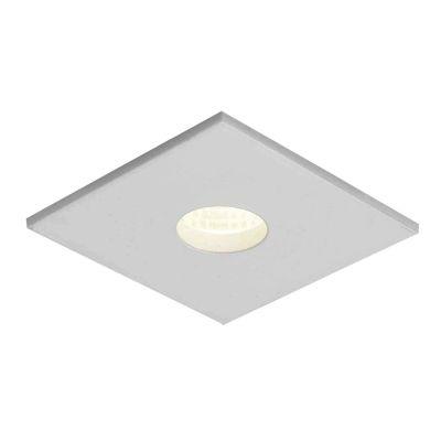 Spot Embutido Fit Quad Alumínio 3,3x5,7cm Bella Iluminação 1 GU10 Minidicróica Bivolt NS1006 Salas e Entradas