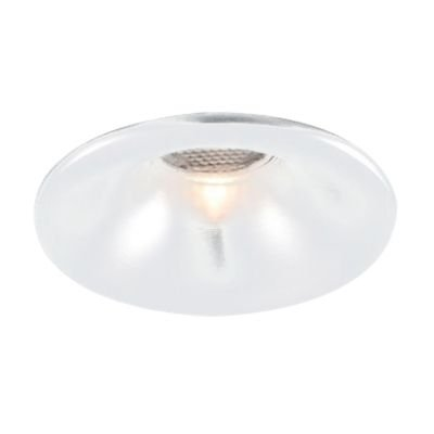 Spot Embutido Fit Red Alumínio Branco 3,5x5cm Bella Iluminação 1 LED 3W Bivolt NS1008L Cozinhas e Corredores