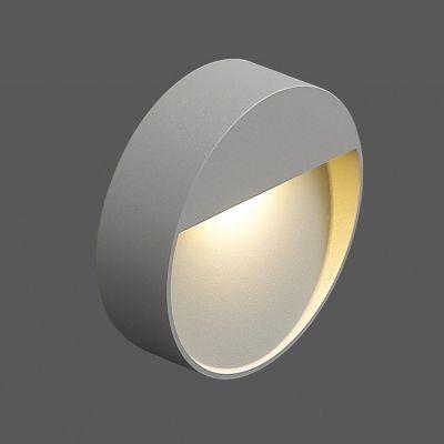 Balizador LED Redondo Alumínio Sobrepor Branco 3,4x10,2cm Bella Iluminação 1 LED Bivolt NS1038R Quartos e Lavabos