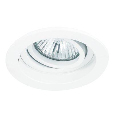 Spot Embutido Conecta Red Alumínio Branco 4x10cm Bella Iluminação 1 GU10 Dicróica Bivolt NS7000B Salas e Quartos