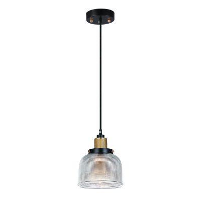 Pendente Vertical Grid Metal Vidro Transparente 11,5x14,5cm Bella Iluminação 1 E27 Bivolt OP045A Entradas e Mesas
