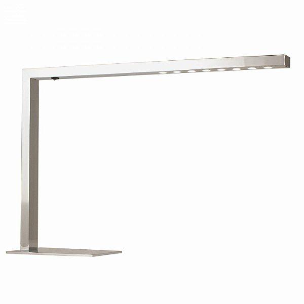 Luminária de Chão LED Decorativo Alumínio Cromado 39x56cm Bella Iluminação 8x LED SE398A Mesas e Balcões