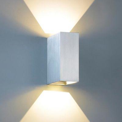 Arandela Decorativa Sobrepor Alumínio Branco 15x5cm Bella Iluminação 1 G9 Halopin Bivolt W1904W Salas e Quartos