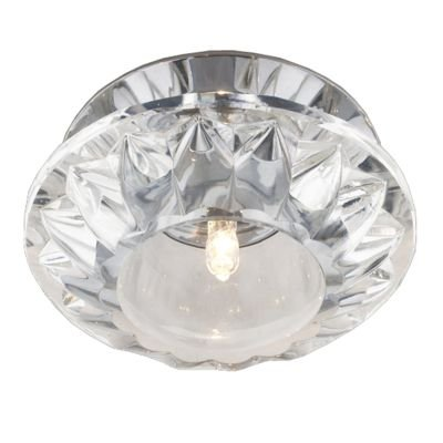 Spot Red Cristal Transparente Aço Cromado 6,1x9,5cm Bella Iluminação 1 G9 Halopin Bivolt YD941 Salas e Banheiros