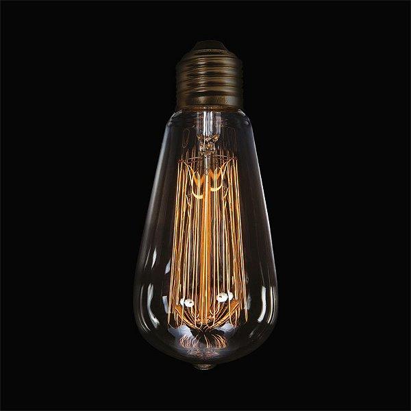 Lâmpada InGabbia E27 40 Watts Decorativa Filamento Carbono Luciin DL002/2