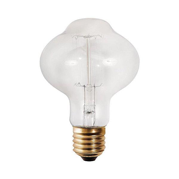 Lâmpada Inloggia E27 40 Watts Decorativa Filamento Carbono Luciin DL012/1