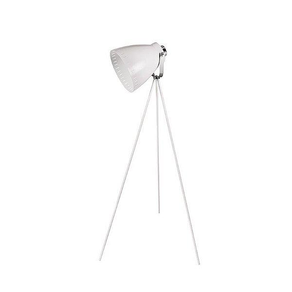 Coluna Ingioventu Tripé Cupula Conica Metal Branco 145x54cm Luciin 1x Lâmpada E27 Bivolt HN007/3 Quartos e Salas