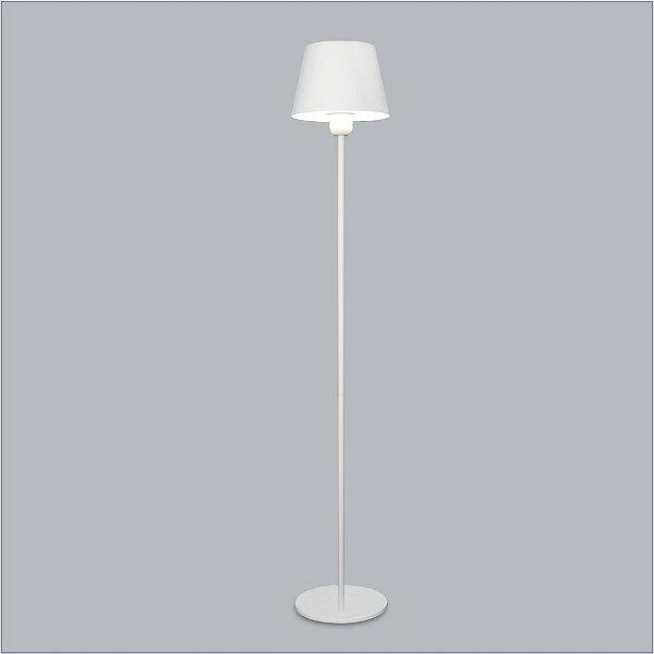 Luminária de Chão Aquarela Metal Branco 150x25cm Usina Design 1x Lâmpada E27 Bivolt 16209-150 Salas e Quartos