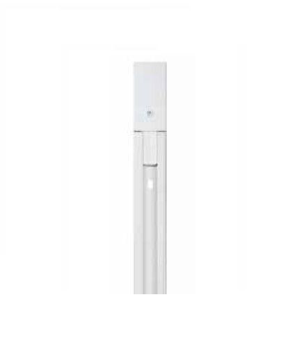Trilho Eletrificado para Spot 2 Vias Alumínio Branco 1,5 Metro Newline 931002