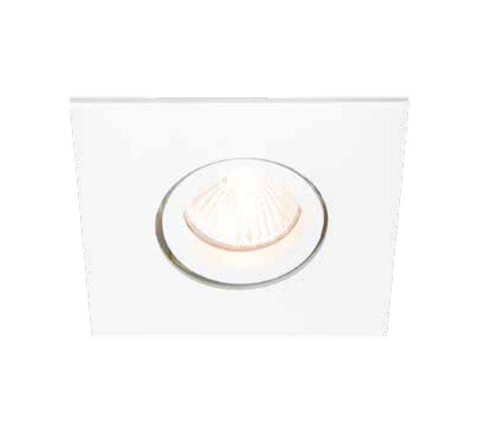 Spot Lisse II Pin Hole Embutido Direcionável 11x12cm Newline 1x E27 PAR20 50W IN55531BT Salas e Corredores