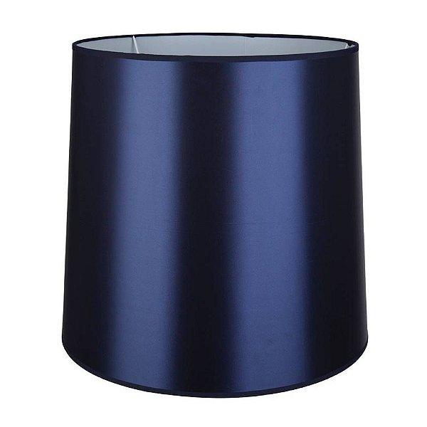 CUPULA Para Abajur Bella CP455050A COLOR AZUL MARINHO 45CMX50CMX50CM