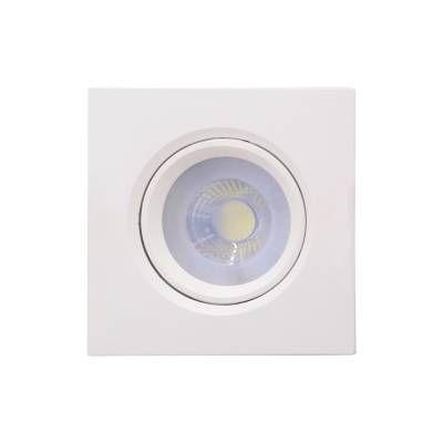 SPOT Bella EMBUTIDO POLI DL127DC 5W LED 2700K A4,5XL9,1xC9,1 Branco