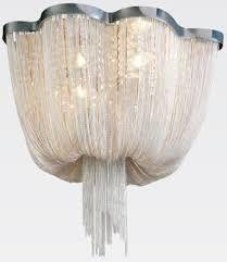 LUSTRE Bella WD015C ARIA Veu de Noiva Chuva Cristal Cromado 60CMX40CM 6XE14