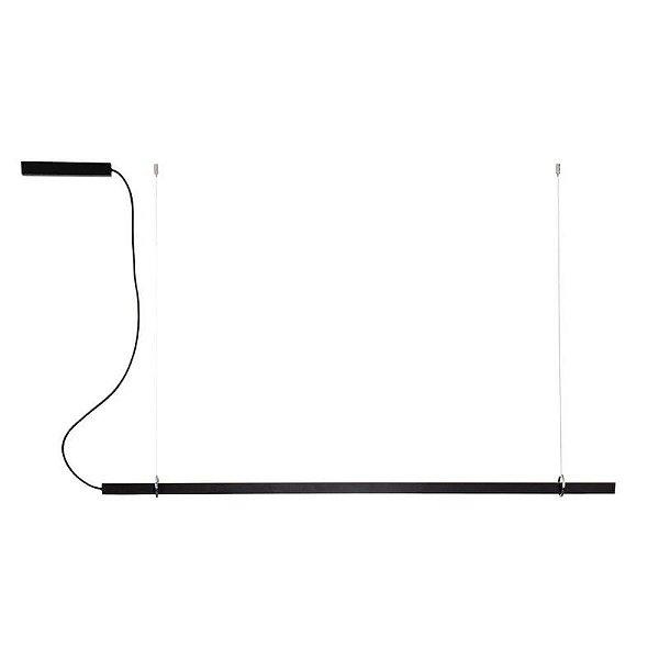 PENDENTE Newline 662LED3 FIT LED Perfil Moderno Suspenso 32W 3000K Luz Quente 127/220V 1140X25X28MM
