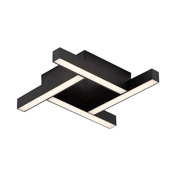 PLAFON Newline 680LED3 FIT LED Perfil Moderno 16,8W 3000K Luz Quente 127/220V 315X315X58MM