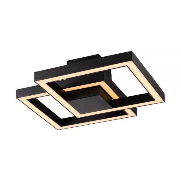 PLAFON Newline 700LED3 FIT LED Perfil Moderno 50,4W 3000K Luz Quente 127/220V 410X410X132MM