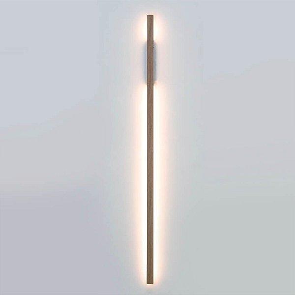 ARANDELA Newline FIT LED Perfil Moderno Linear 657LED3MD 32W 3000K Luz Quente 127/220V 25X61X1140MM