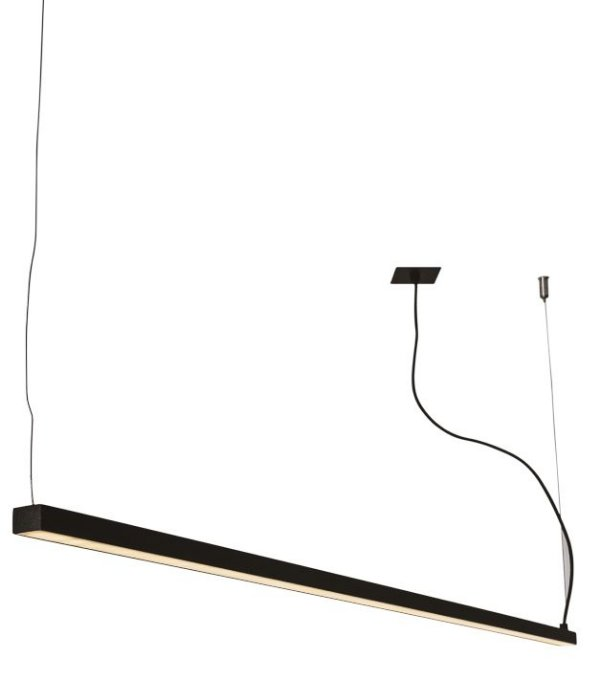 PENDENTE RÉGUA 16363/50 NAZCA Usina Design Perfil Linear Haste Moderno   x 4,9 X 50CM X 4,7 (1m cabo) x Fita LED