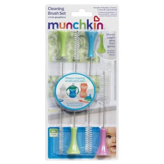 Escovinha Para Limpeza De Canudo - Munchkin