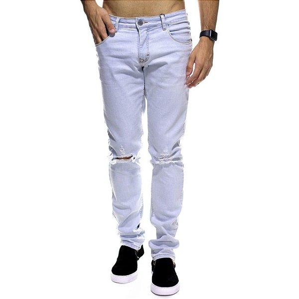 Calça Jeans Urbô Light Style Rasgada