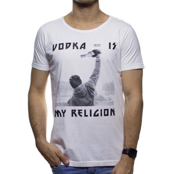 Malha Purple Yellow Vodka is My Religion Branca
