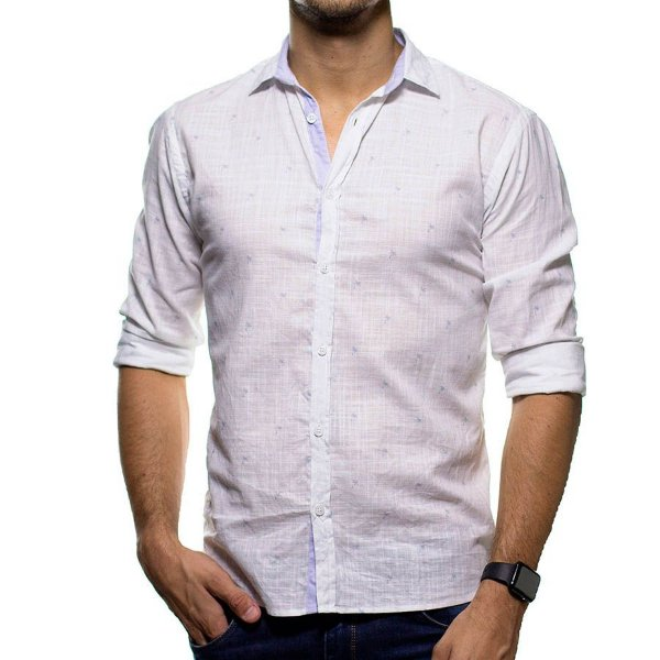 Camisa Social Foxton Itacare Casual Fit