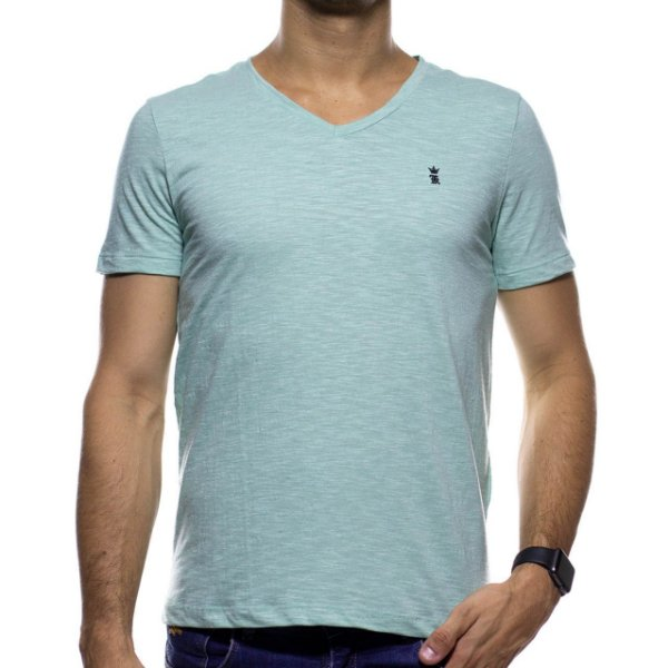 Camiseta Malha Sergio K Básica Verde