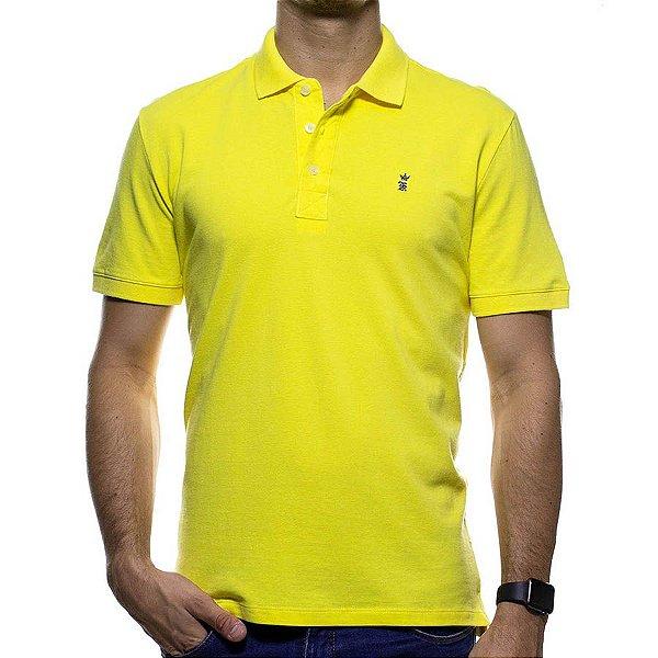 Camisa Polo Sergio K Amarela Básica