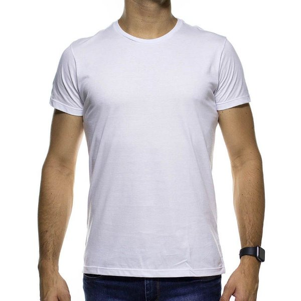 Camiseta de Malha Foxton Branca Basica