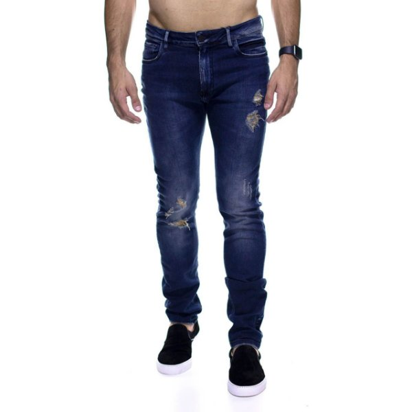 Calça Jeans King e Joe Rasgada