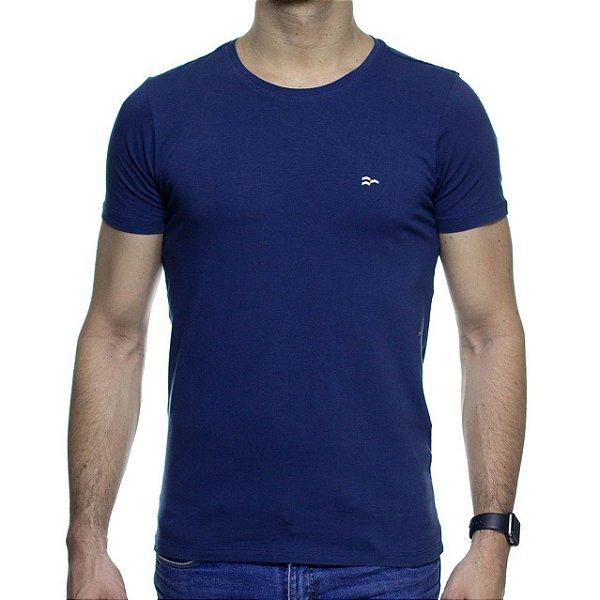 Camiseta de Malha Urbô Azul Básica