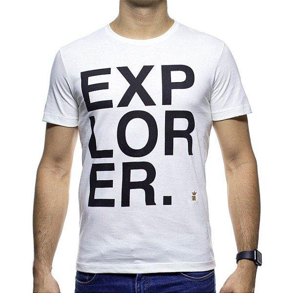 Camiseta Malha Sergio K Explorer