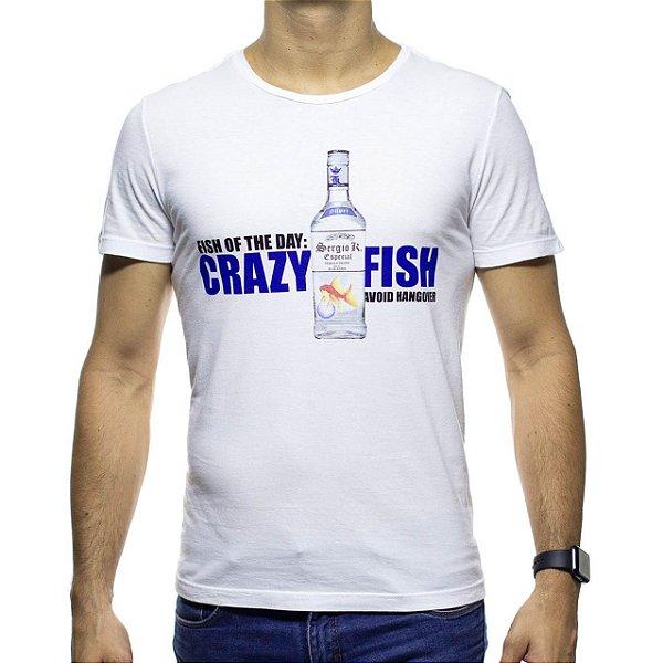 Camiseta Malha Sergio K Crazy Fish