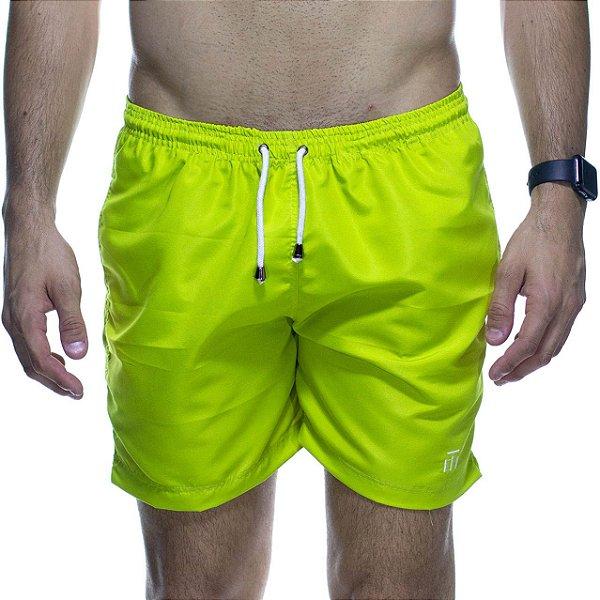 Short Montrê Neon Verde Mostarda