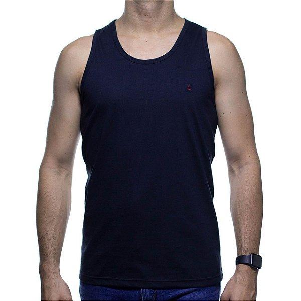 Camiseta Malha Regata King e Joe Preta Basica